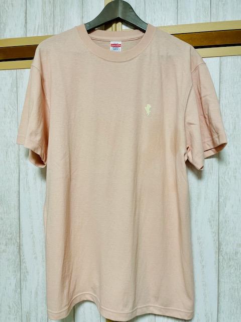 オンスオープンヘヴィーウェイトTシャツ(オフピンク)